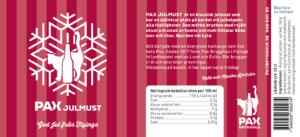 Etikett till Pax Julmust